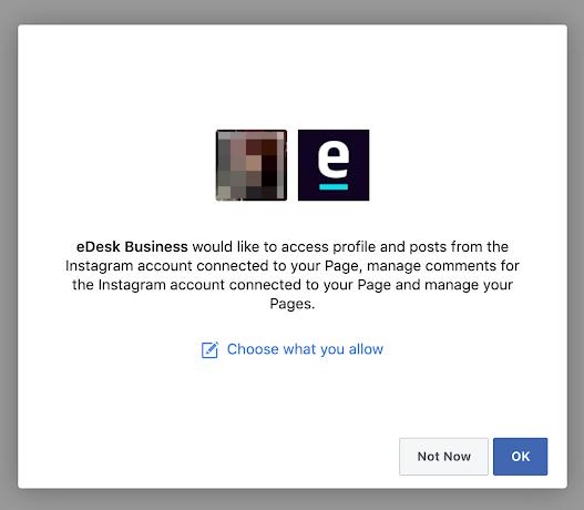 edesk allow access